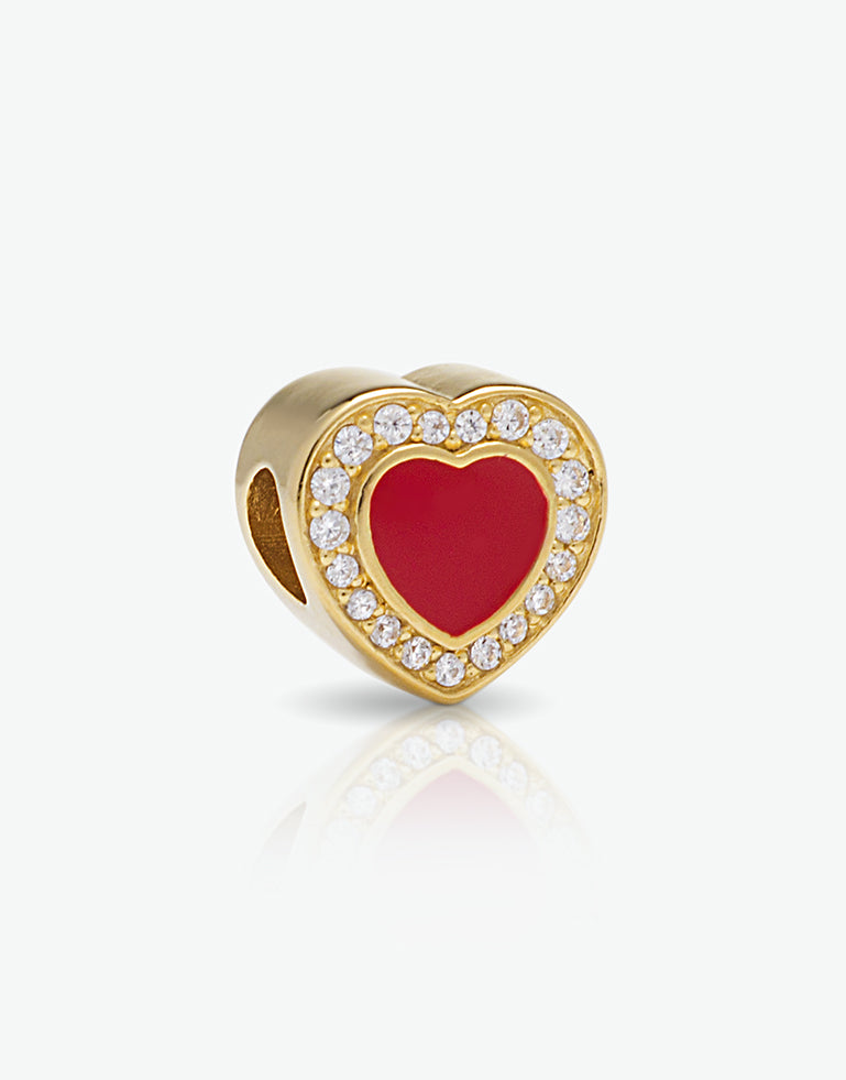 Emoticons - Charm Love dorato cod. 0.06384