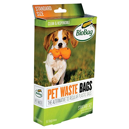 "8"" X 11.4"" X 0.9 Mil Green Certified Compostable Plastic Pet Waste Bags (600 Bags Packed 50 Bags/Box, 12 Boxes/Case)"