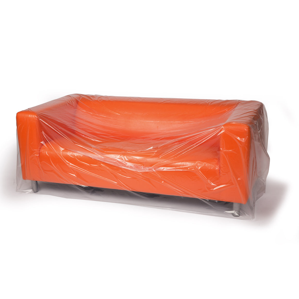 Clear Eco-Manufactured Plastic Furniture Covers