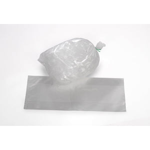 Clear Eco-Manufactured Plastic Heavy Duty Ice Bags