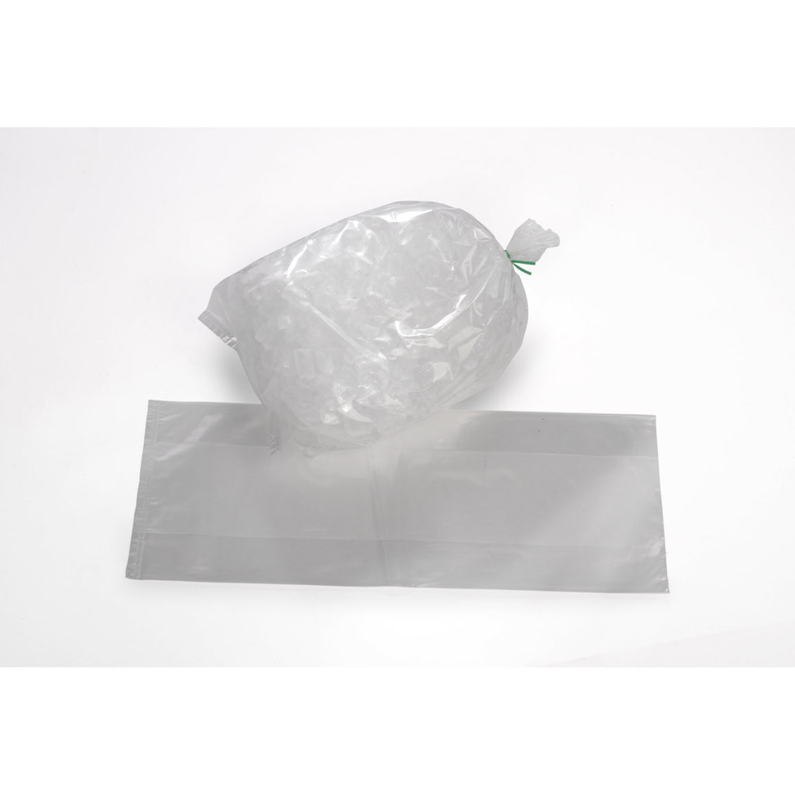 Clear Plastic Eco Manufactured Ice Bags