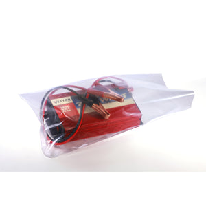 Clear Eco-Manufactured Plastic Layflat Bags