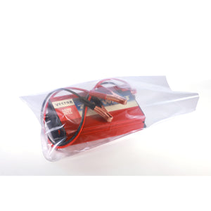 Clear Eco-Manufactured Plastic Extra Strength Layflat Bags
