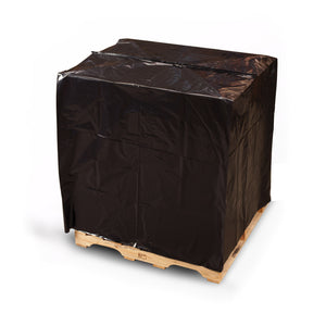 Black Eco-Manufactured Plastic Pallet Top Covers with UVI/UVA