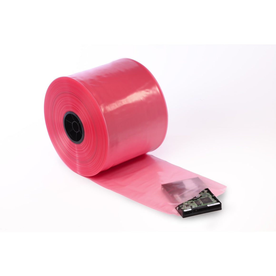 Pink Eco-Manufactured Plastic Anti-Static (PAS) Tubing