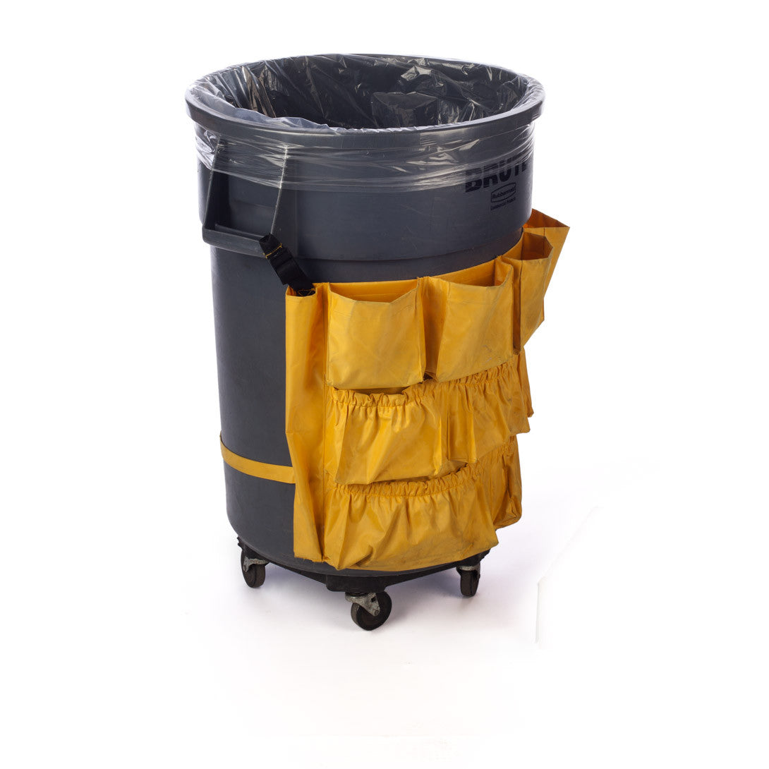 Clear Eco-Manufactured Plastic Heavyweight Trash Can Liners