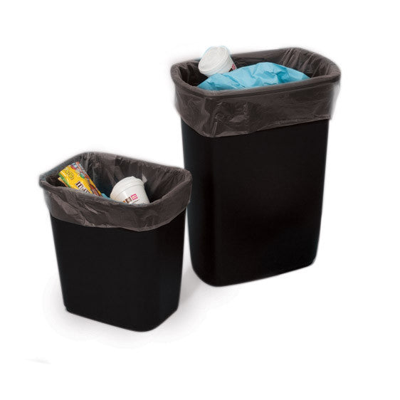 Clear Plastic Eco Manufactured Trash Liners