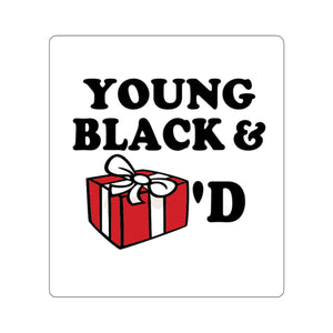 Young, Black & Gifted Sticker