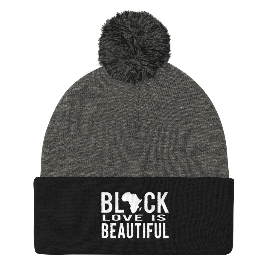 Black Love Knit Cap