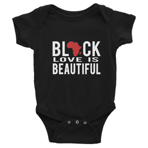 Black Love Infant Bodysuit