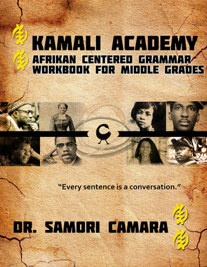 Kamali Academy Grammar Workbook for Middle Grades (E-Book)