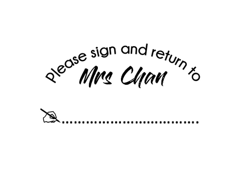 Sign and Return