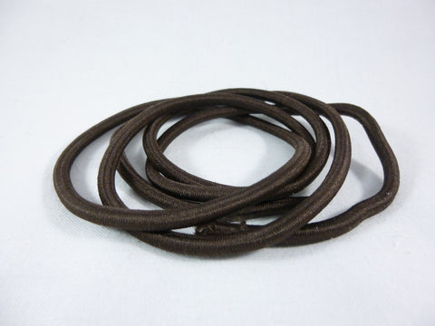 Brown 4mm Cord Elastic