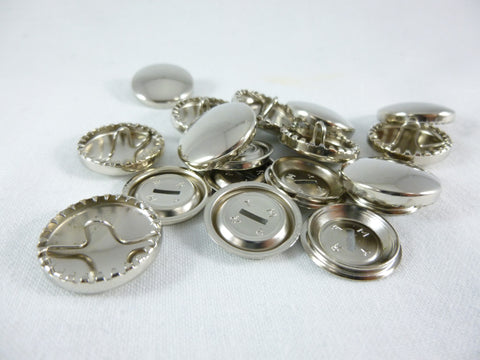 15mm Metal Cover Buttons
