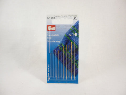 Prym Darning Needles Sizes 1-9