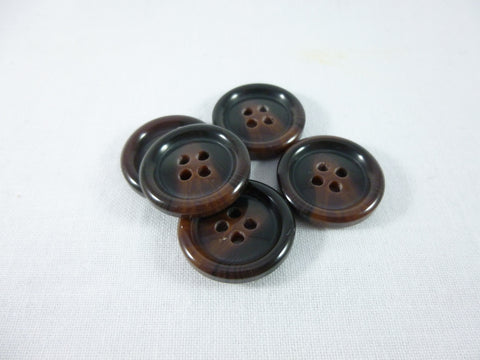 Jacket Button 20mm (32L) Ox-Blood Brown