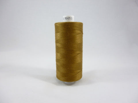 Moon Thread 1000 yards M0053 Toffee Brown