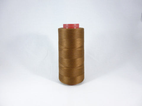 2500 yard Coats Overlocker Thread Cone - 09077 Reddish Brown