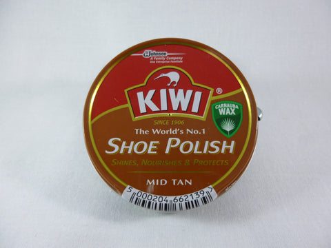 Kiwi Shoe Polish - Mid Tan