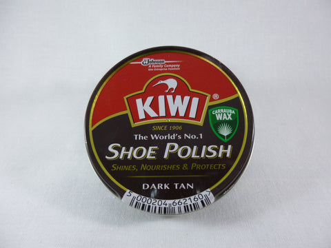 Kiwi Shoe Polish - Dark Tan