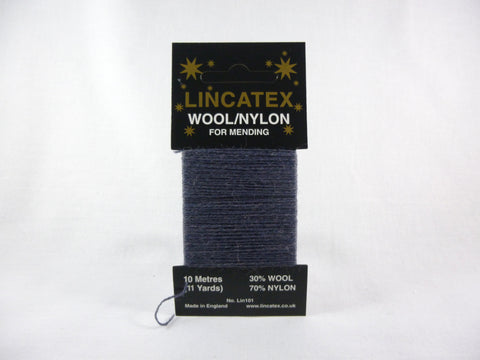 Lincatex Darning Wool 10M Airforce Blue