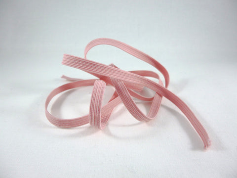 Pink 6mm Corded Flat Elastic