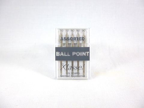 Sewing Machine Needles Ball Point Assorted