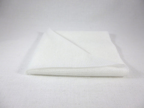 Stitch Reinforced Interfacing White