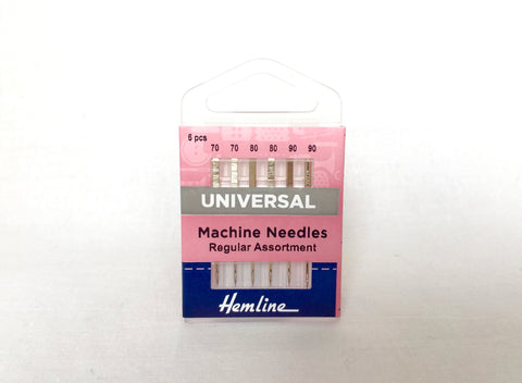 Hemline Sewing Machine Needles Universal Assorted