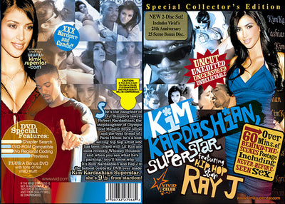 Kim Kardashian Superstar - Sealed DVD