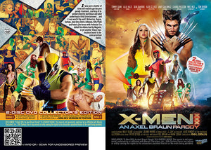 X-Men XXX (2 Disc Set) - Vivid Parody & Celebrity Sealed DVD