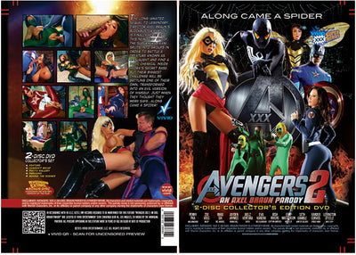 Avengers XXX 2 (2 Disc Set) - Vivid Parody & Celebrity Sealed DVD