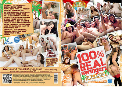 100% Real Swingers: Orlando 1 Vivid - Catalog New Sealed DVD