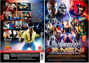 Avengers vs X-Men XXX (2 Disc Set) - Vivid Parody & Celebrity Sealed DVD