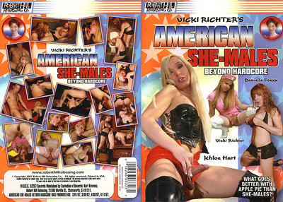 American She-Males: Beyond Hardcore Robert Hill - Tranny Sealed DVD