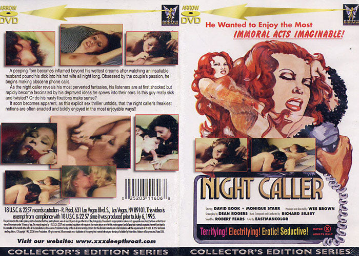 Night Caller Arrow - Classic Sealed DVD