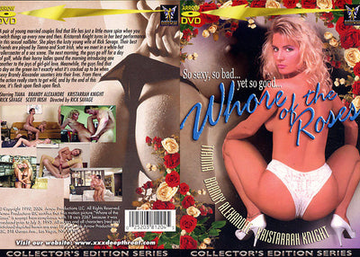 Whore Of The Roses Arrow - Classic Sealed DVD
