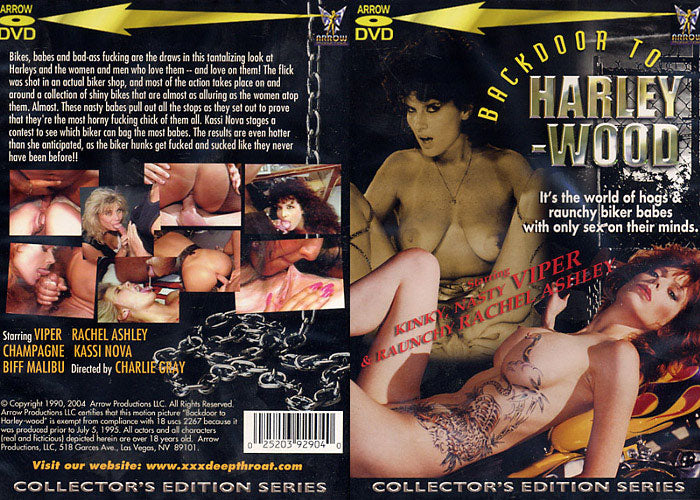 Backdoor To Harley-Wood 1 Arrow - Classic Sealed DVD