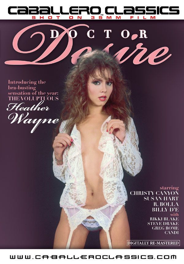 Doctor Desire - Christy Canyon - Classic DVD