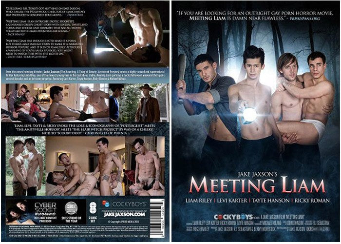 Meeting Liam - Cocky Boys Gay Sealed DVD