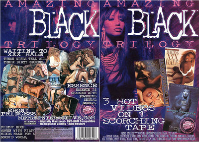 *Amazing Black Trilogy - Metro - 3 Videos - Sealed DVD