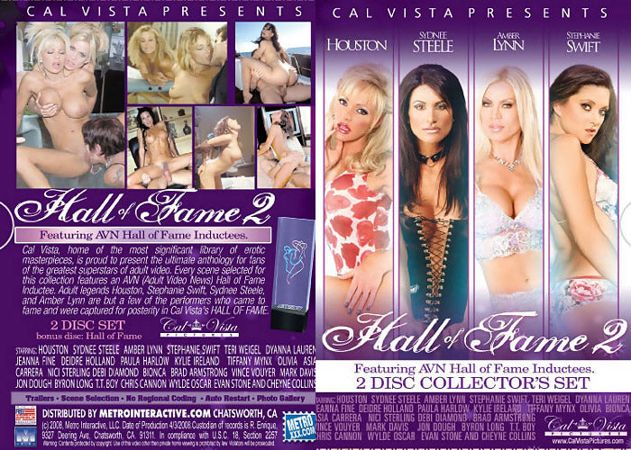 18 Different Cal Vista Best Seller Sealed DVDs (Includes Hall of Fame Box Set)