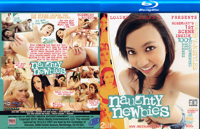 Naughty Newbies - Loaded Digital Blu Ray DVD