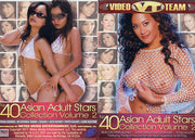 Top 40 Adult Asian Stars #2 Video Team 2 Sealed DVD Set