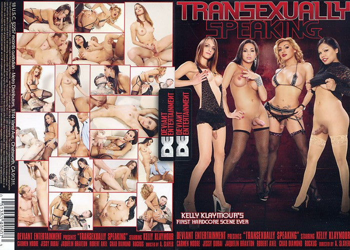 Transexually Speaking - Deviant Sealed DVD