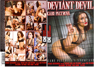 Deviant Devil: Gabi Paltrova Deviant - Fetish Sealed DVD