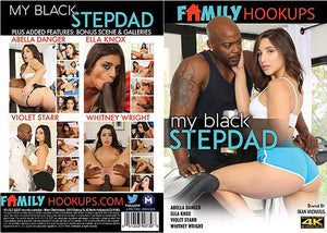 My Black Stepdad - Family Hookups (abella danger) Sealed DVD