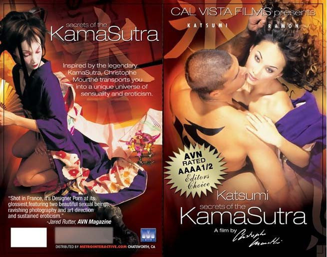 Secrets of the Kama Sutra - Cal Vista Adult Sealed DVD
