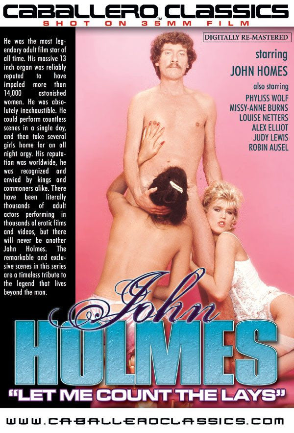 John Holmes Let me Count the Lays - Classic DVD