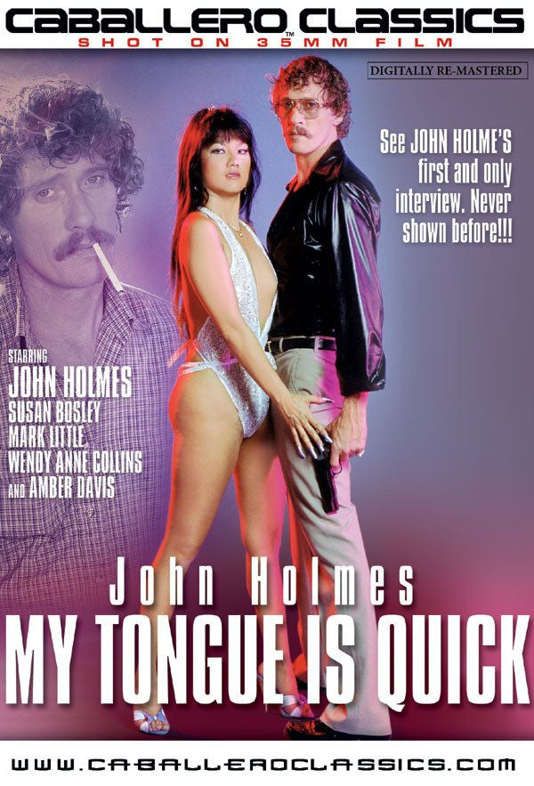 John Holmes My Tongue is Quick - Classic DVD